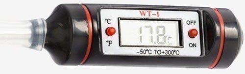 Дистиллятор рассчитан на цифровой термометр